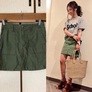 アングリッド(Ungrid)のUNGRID♡GUNGHOベイカーリメイクスカート(ミニスカート)