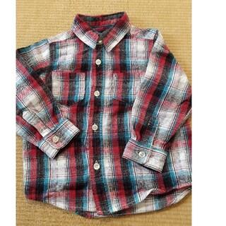 ベビーギャップ(babyGAP)のチェックシャツ 95サイズ babyGAP(Tシャツ/カットソー)