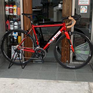 チネリ EXPERIENCE 105 ロードバイク 53サイズ 赤175cm対応(自転車本体)