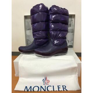モンクレール(MONCLER)のモンクレール のダウンブーツ スキーや雪山に moncler(ブーツ)