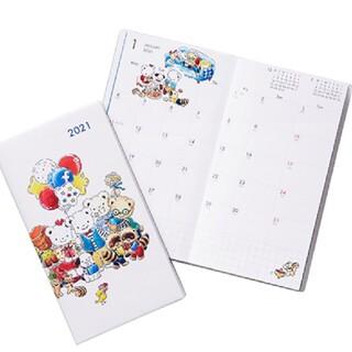 ファミリア(familiar)のファミリア familiar 2021年 スケジュール帳(カレンダー/スケジュール)