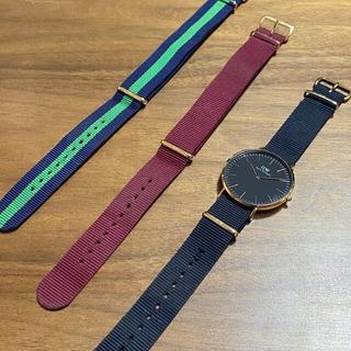 ダニエルウェリントン(Daniel Wellington)のDaniel Wellington 40mm BLACK RG(腕時計(アナログ))