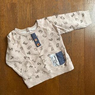 キムラタン(キムラタン)のキムラタン 数字トレーナー ロンT 90㎝(Tシャツ/カットソー)