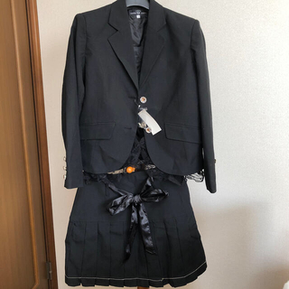 ニッセン(ニッセン)の新品未使用 フォーマルスーツ上下 ニッセン 160cm(ドレス/フォーマル)