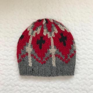 ハリウッドランチマーケット(HOLLYWOOD RANCH MARKET)のpasadena ニット帽 ウール100   カウチン(帽子)