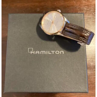 ハミルトン(Hamilton)のHAMILTON JAZZ MASTER GENT QUARTZ(腕時計(デジタル))