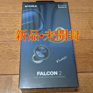 ノーブル(Noble)の新品未開封 falcon2 黒 ワイヤレスイヤホン 無線充電パッド付(ヘッドフォン/イヤフォン)