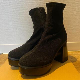 エヴリス(EVRIS)のEVRIS  FIT SLIMチャンキーブーツ Lサイズ(24〜24.5cm)(ブーツ)