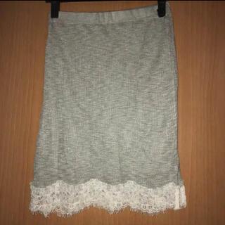 セシルマクビー(CECIL McBEE)の【新品・未使用】CECIL McBEE スカート(ひざ丈スカート)