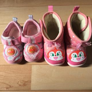 アンパンマン(アンパンマン)の幼児用靴 アンパンマン 2足セット 女の子(ブーツ)