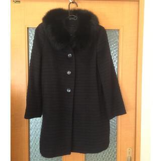 アナイ(ANAYI)のANAYI フォックスファー付 コート サイズ36(毛皮/ファーコート)