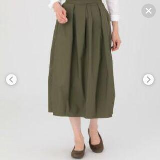 ムジルシリョウヒン(MUJI (無印良品))の無印良品 バルーンスカート ロングスカート カーキ スカート バルーン(ロングスカート)