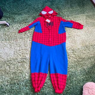 マーベル(MARVEL)のスパイダーマン 裏起毛つなぎ 150センチ(その他)
