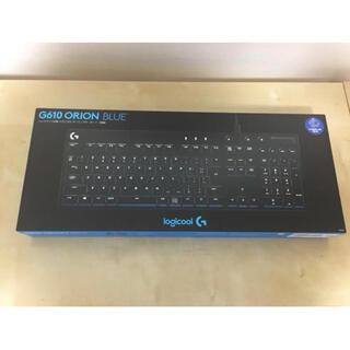【新品未開封】Logicool G ゲーミングキーボード 有線 G610BL(PC周辺機器)
