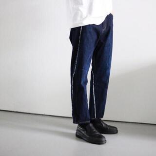 サンシー(SUNSEA)のkhoki コッキ19aw wrap denim pants ラップデニムパンツ(デニム/ジーンズ)