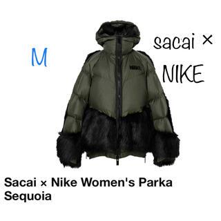 サカイ(sacai)のNike x sacai Women's Parka Khaki Mサイズ(ダウンジャケット)