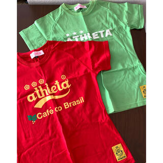 アスレタ(ATHLETA)のasureta Tシャツ2枚(Tシャツ(半袖/袖なし))