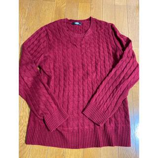 ☆送料無料☆パッゾ ニット セーター PAZZO サイズ48 L 赤 レッド(ニット/セーター)