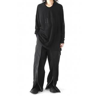ユリウス(JULIUS)のJulius シームドオーバーカットソー 定価3万(Tシャツ/カットソー(七分/長袖))