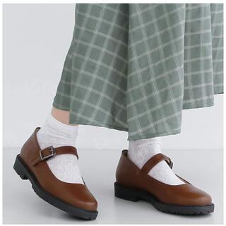 メルロー(merlot)のmerlot 3way リボン付きストラップシューズ(ローファー/革靴)