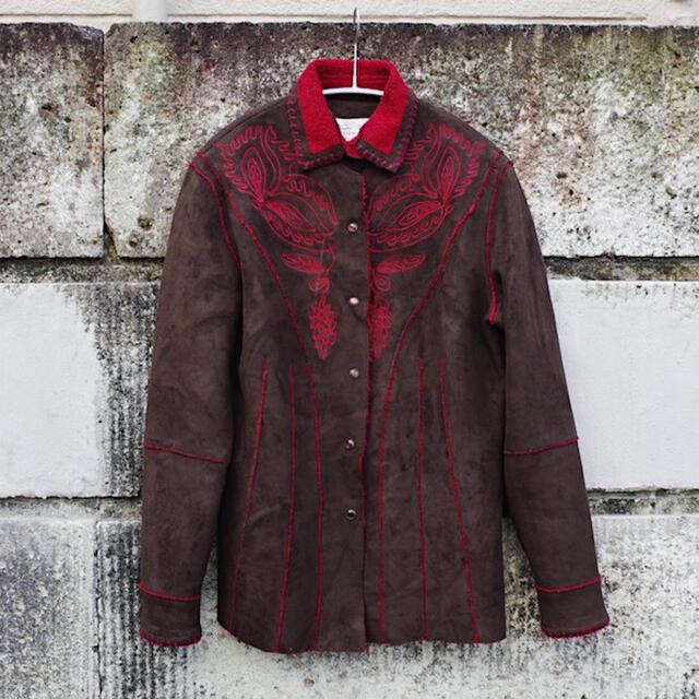 Ameri VINTAGE(アメリヴィンテージ)のVintage Suede western jacket レディースのジャケット/アウター(ブルゾン)の商品写真