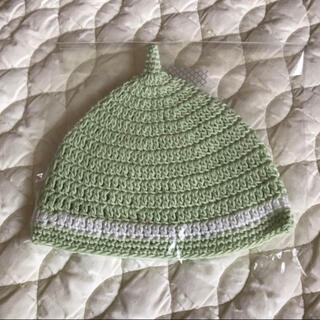 ザラキッズ(ZARA KIDS)の【新品】どんぐり帽子 38㎝(帽子)