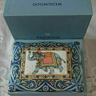 ウェッジウッド(WEDGWOOD)の【WEDGWOOD】カードBOX トランプ(小物入れ)