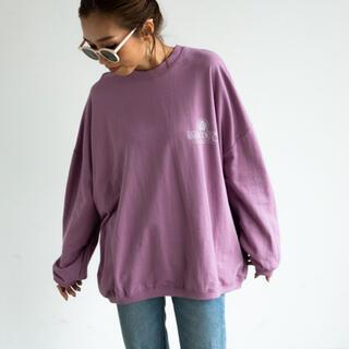 アンティローザ(Auntie Rosa)のAuntie Rosa Holiday バックプリントトップ(Tシャツ(長袖/七分))
