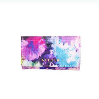 アナスイ(ANNA SUI)の【新品未使用】 AETHER 大人可愛い 紫陽花 キーケース 紫 革製 高級(キーケース)