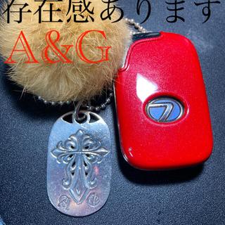 エーアンドジー(A&G)のA&G50cmシルバーネックレス(ネックレス)