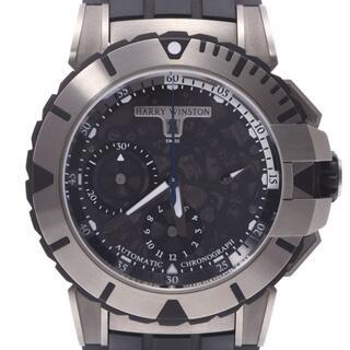 ハリーウィンストン(HARRY WINSTON)のハリーウィンストン  オーシャンスポーツ クロノ 腕時計(腕時計(アナログ))