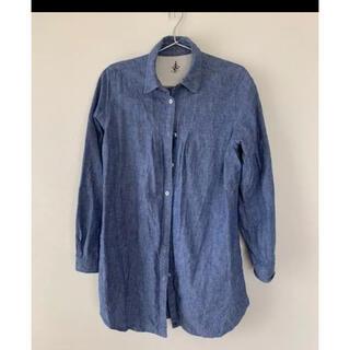 フェリシモ(FELISSIMO)のシャツ シャツワンピース ワンピース チュニック(シャツ/ブラウス(長袖/七分))