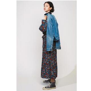 シンゾーン(Shinzone)のシンゾーン 花柄 ロング スカート(ロングスカート)