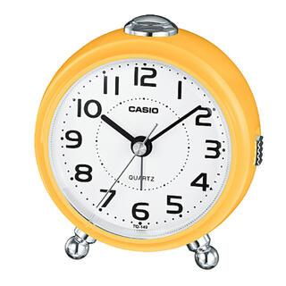 カシオ(CASIO)のカシオ 小型目覚ましクロック 目覚まし時計 スヌーズアラーム機能 ライト付き(置時計)