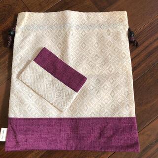 ドクターシーラボ(Dr.Ci Labo)のドクターシーラボ 巾着とポケットティッシュカバーセット(ポーチ)