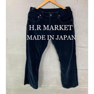 ハリウッドランチマーケット(HOLLYWOOD RANCH MARKET)のH.R MARKET ベロアパンツ!日本製!(その他)