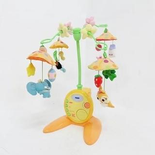 タカラトミー(Takara Tomy)のディズニー やわらかガラガラメリー 赤ちゃん用(オルゴールメリー/モービル)