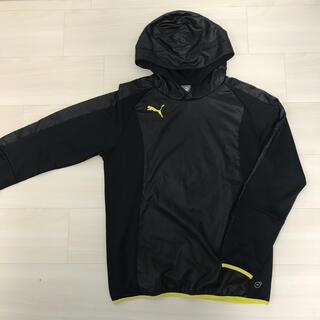 プーマ(PUMA)のプーマ 長袖上着 Oサイズ 黒 フード付き(ウェア)