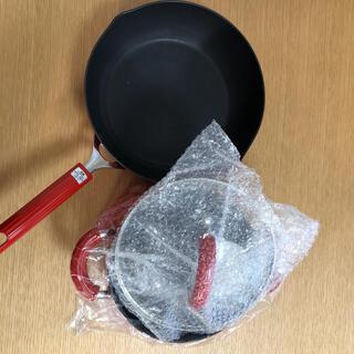マイヤー(MEYER)の黒猫さまマイヤー サーキュロン オリジンズ 両手鍋20cm、ディープパン26cm(鍋/フライパン)
