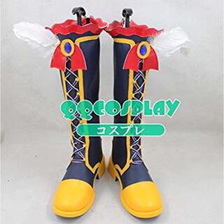 プリパラ 紫京院ひびき コスプレ ブーツ(靴/ブーツ)