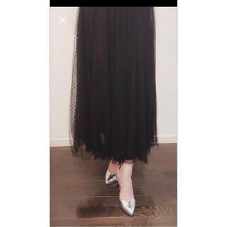 ザラ(ZARA)のロングチュールスカート(ロングスカート)