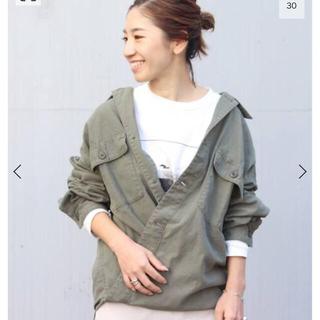 プラージュ(Plage)のplage プラージュ 製品加工Bigアーミーシャツ 36サイズ(シャツ/ブラウス(長袖/七分))