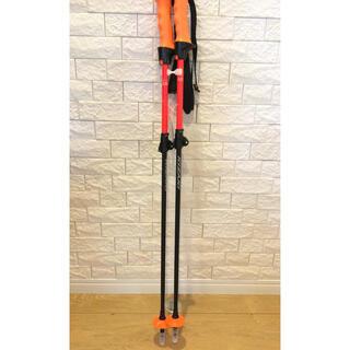 キザキ(KIZAKI)のスキー 伸縮ストック キザキ 85〜105cm 新品未使用品(ストック)