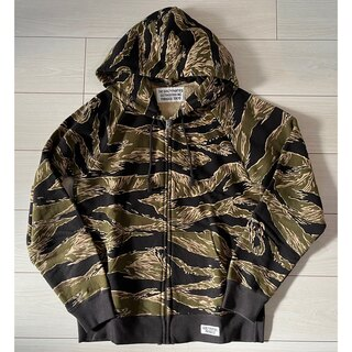 ワコマリア(WACKO MARIA)のWACKOMARIA TIGER CAMO HOODED SWEAT(パーカー)