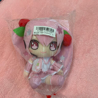 タイトー(TAITO)の桜ミクぬいぐるみ2020ver ノーマル(ぬいぐるみ)