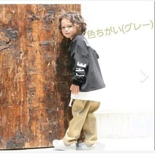 ナルミヤ インターナショナル(NARUMIYA INTERNATIONAL)のb・ROOM  裏毛 レイヤード風ビッグトレーナー(グレー)(Tシャツ/カットソー)