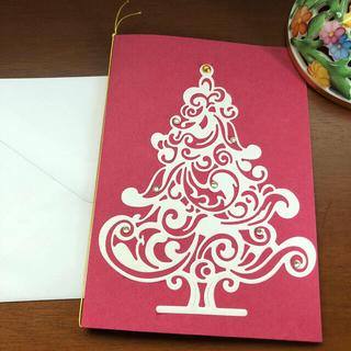 あんみつ姫様 クリスマスカードと封筒(カード/レター/ラッピング)