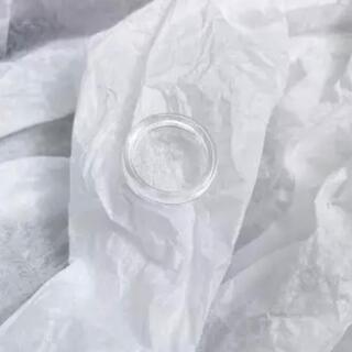 アネモネ(Ane Mone)のインポート クリア シンプル リング(リング(指輪))