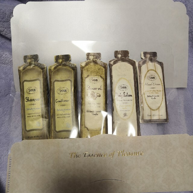 SABON(サボン)のSABON サンプル セット コスメ/美容のボディケア(ボディクリーム)の商品写真