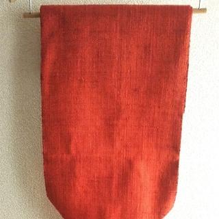 ニシジン(西陣)の西陣手織帯 赤(帯)